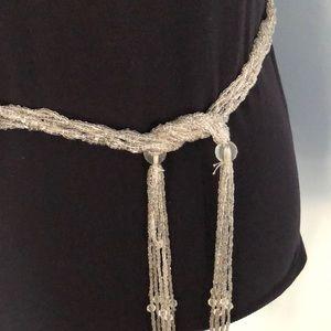 Vintage Sparkling Beaded Belt